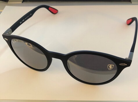 Ray Ban Ferrari Polarized Sunglasses $305.00 Retail
