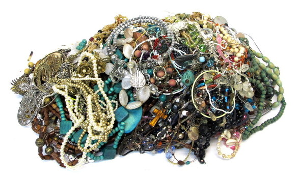 Mountain of Jewelry weighing in at Over 13 pounds
