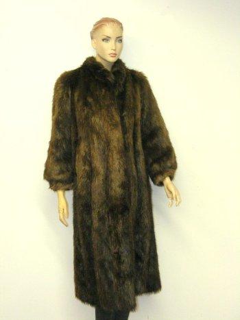 Women's Beaver Coat  S