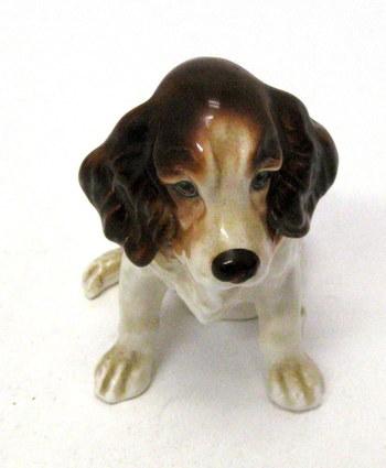 Vintage Sylvac Pottery Spaniel Figurine