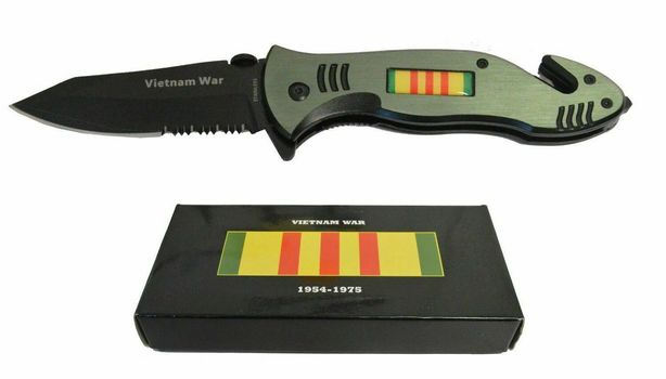 "8"" Vietnam War Veterans Memorial Commemorative Knife"