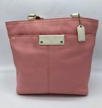 Coach Hamilton Leather Tote Retail $340
