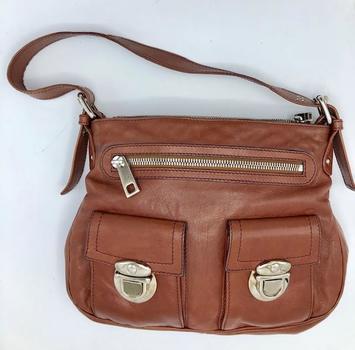 Marc Jacobs Brown Leather Hobo Bag Retail $975