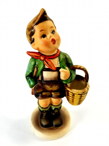 Hummel Figurine Village Boy ~ Boy with Basket 51 2/0 TMK-5