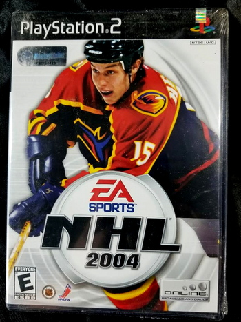 NHL 2004 Sony PlayStation 2 PS2 Brand New Factory Sealed