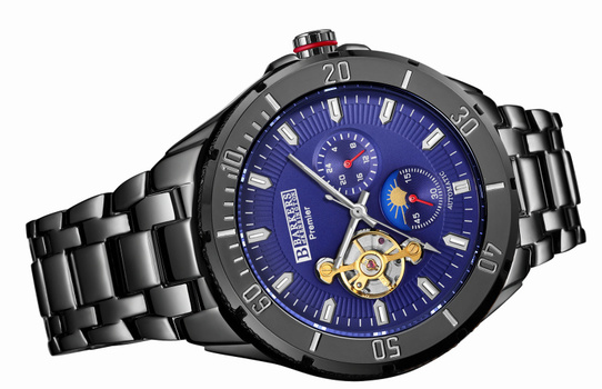 NEW Barkers Of Kensington Luxury Men's Watch Retail $725.00 NEW LONDON