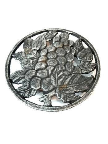 VTG Cast Iron Hot Plate - Grape Design