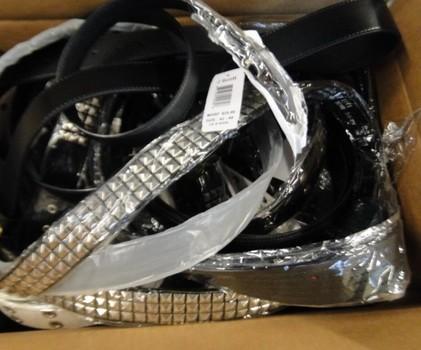 Unclaimed Box from Storage Locker Belts