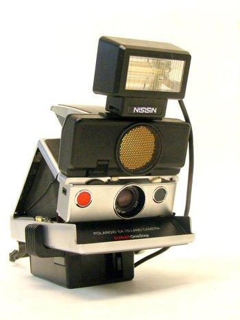 Polaroid SX-70 Sonar Camera
