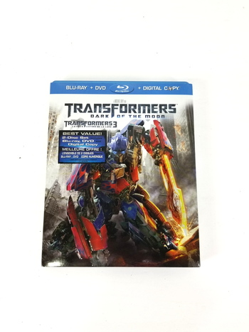 Transformers Dark of the Moon Blue Ray