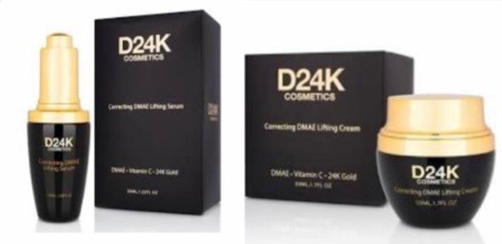 D24K by D'or 24K 24K DMAE Lifting Set / Cream / Serum D24K Retail $599
