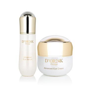 D'or 24K 24k Eye Cream & Serum Set Retail $925