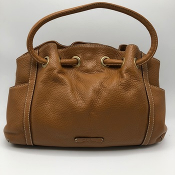 Cole Haan Brown Leather Tote Bag