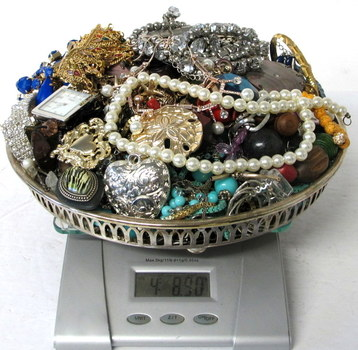 Over 4 Pounds of Jewelry