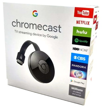 Google Chromecast Digital HDMI Streamer