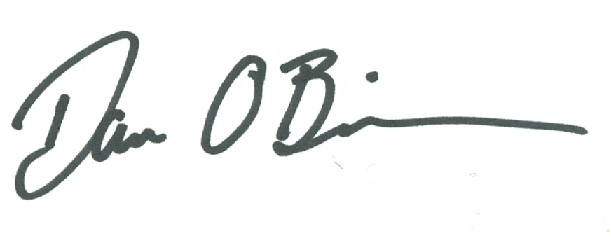 Dan O'Brien American Olympic Champion Decathlete Signed Autographed 3x5 Index Card w/coa $100 Retail
