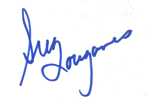 Greg Louganis American Olympic Diver Signed Autographed 3x5 Index Card w/coa $100 Retail
