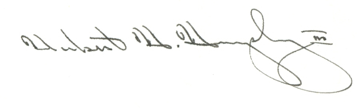 Hubert Humphrey RIP 1978 Former Vice President of the United States Signed Autographed 3x5 Index Card w/coa $300 Retail