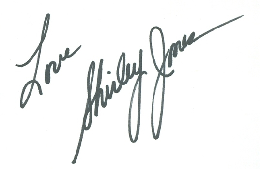 Shirley Jones American Singer/Actress Partridge Family Signed Autographed 3x5 Index Card w/coa $100 Retail