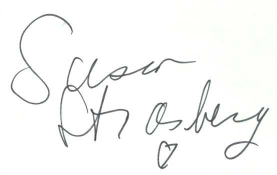 Susan Strasberg RIP 1999 American Film Actress Signed Autographed 3x5 Index Card w/coa $150 Retail