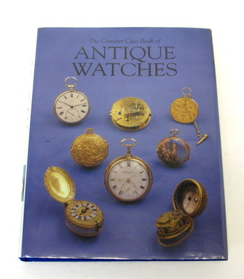 Vintage Book-The Camerer Cuss Book of Antique Watches-Hard Cover