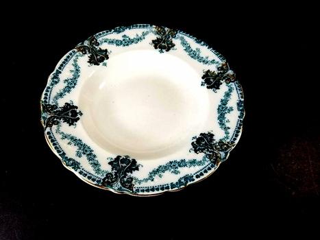 VTG Wood & Son England Porcelain Soup Plate