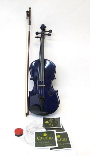 Mendini Purple 1/2 Violin
