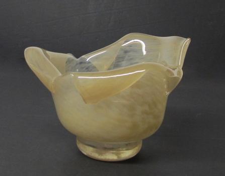 Vintage Art Glass Bowl