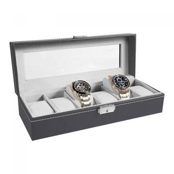 6 Slot Watch Display Box