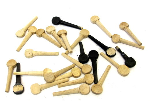 Lot of Violin Tuning Pegs