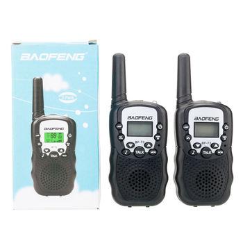 2 Pc  Super Portable Walkie Talkies