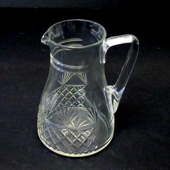 Vintage Crystal Milk Jug