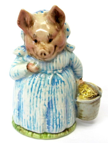 "Beswick England "" Aunt Pettitoes""-Beatrix Potter Figurine"