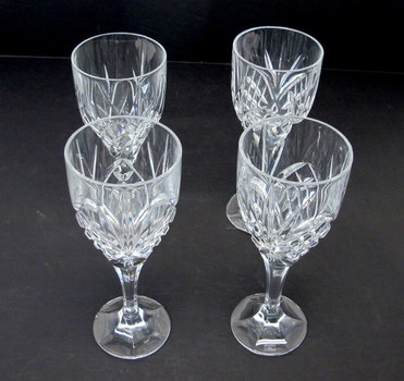 Set of 4 Marquis by Waterford Goblets
