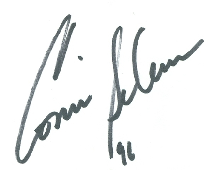 Connie Sellecca American Actress Flying High Signed Autographed 3x5 Index Card w/coa $100 Retail