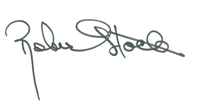 Robert Stack RIP 2003 American Actor The Untouchables Signed Autographed 3x5 Index Card w/coa $150 Retail