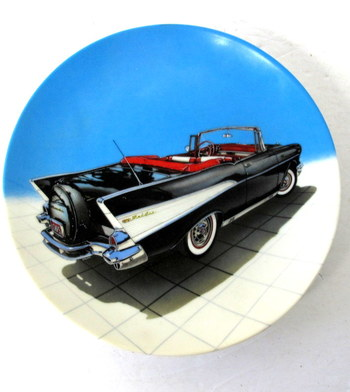 """Dream Machines Collector's Plate-""""57 Bel Air"""""""