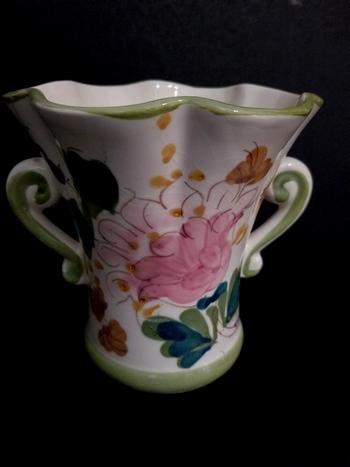 Hand Painted Portugal Ceramic Vase