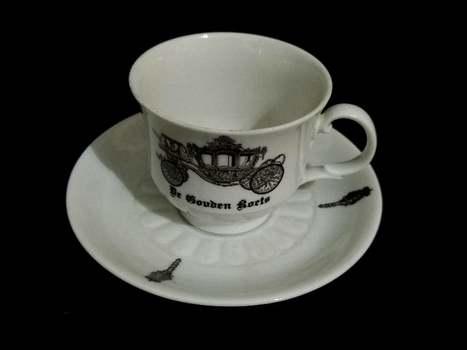 VTG Mitterteich Bavaria Bone China Tea Cup and Saucer