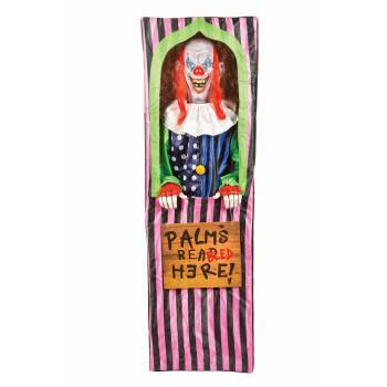Morbid Enterprises Animated Palm Bleeder Clown Halloween Decoration