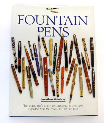 Vintage Book-Fountain Pens-Hard Cover
