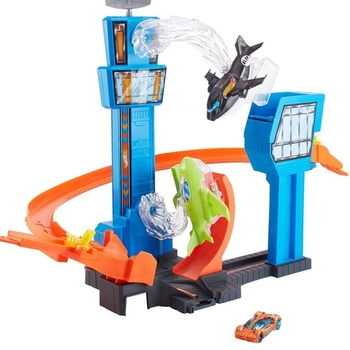 Hot Wheels Track Collection: Jet Jump Airport Play Set