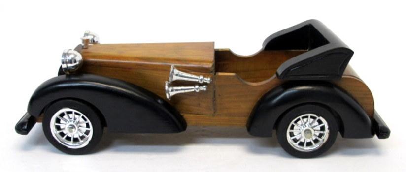 Decorative Wooden Car