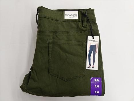 Parasuco Women's Pants, Green, Size 14