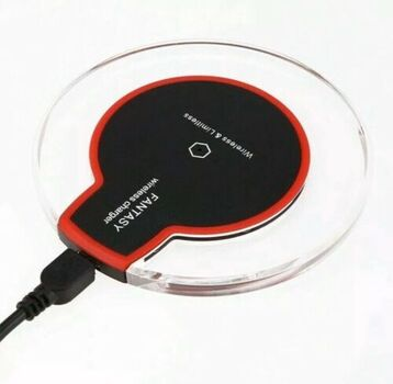 Fantasy Wireless Charger Qi Standard Red New