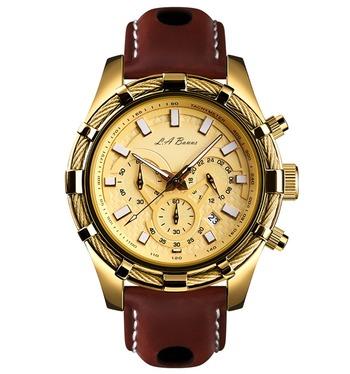 LA Banus Chronograph 3 Sub Dial Watch Retail $699.00