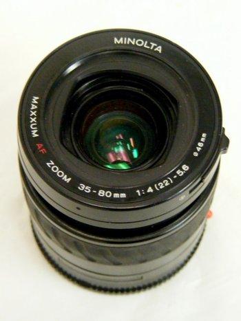Minolta Maxx Af 35 - 80mm f4.5-5.6 Lens