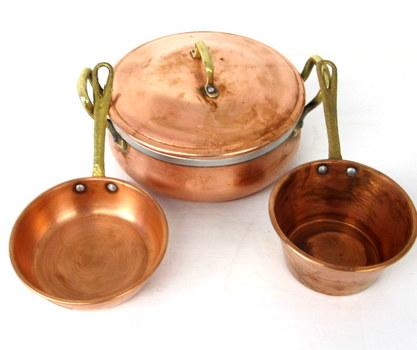 Vintage Set of Copper Ware