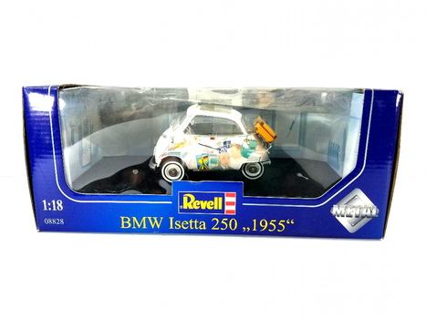 1955 BMW Isetta 250 Revell 50 Year Anniversary Edition 1/18 Metal Model Car