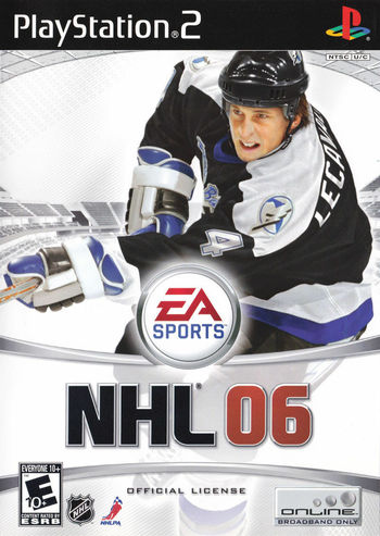 NHL 2006 Playstation 2 Game With Manuel